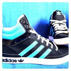 Adidas Superstar Sz 11 GC  Turquoise black/white